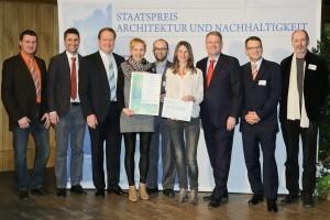 Preisverleihung Staatspreis Architektur und Nachhaltigkeit 2014