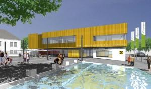 Neubau eines Gemeindezentrums in Lichtenberg bei Linz